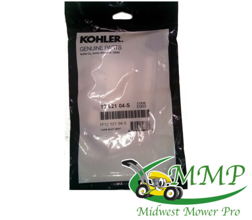 New OEM Kohler Inlet Seat Pressure Kit 12-521-04S
