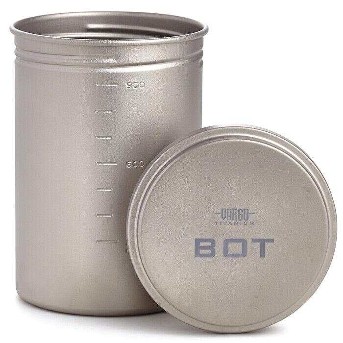 Vargo Titanio  Bot  Pot Botella T-427