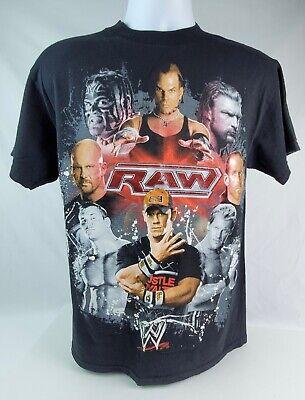 WWE RAW T SHIRT FEATURING JOHN CENA MEDIUM ONLY