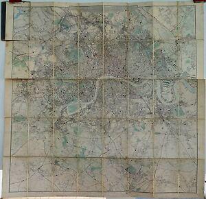 Antique-maps-Davies-039-s-new-map-of-the-British-Metropolis-1886