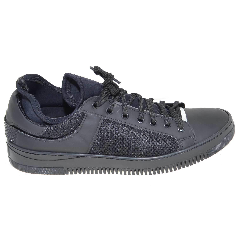 Scarpe casual da uomo  scarpe uomo art0456 tessuto interno calzino made in italy vera pelle comfort ant
