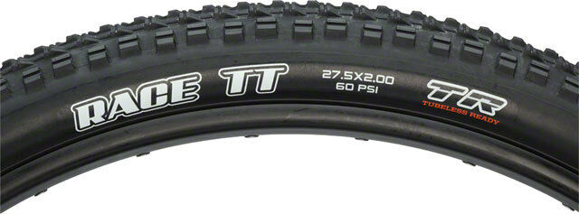 New Maxxis Race TT 27.5 x 2.0 Tire Folding 60tpi Dual Compound Tubeless Ready