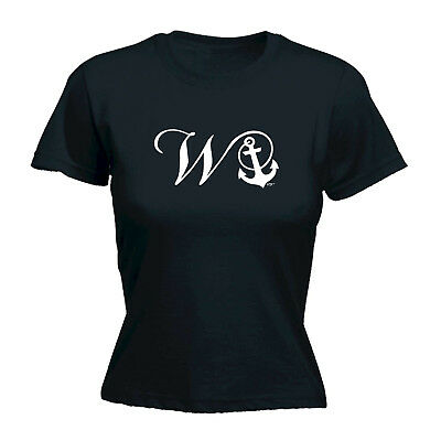 Funny Novelty Tops T-shirt Womens Tee Tshirt - Wanker Anchor