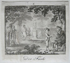 Wilhelm giuria della pigre chiave in rame 1799 costumi specchio per la gioventù carattere