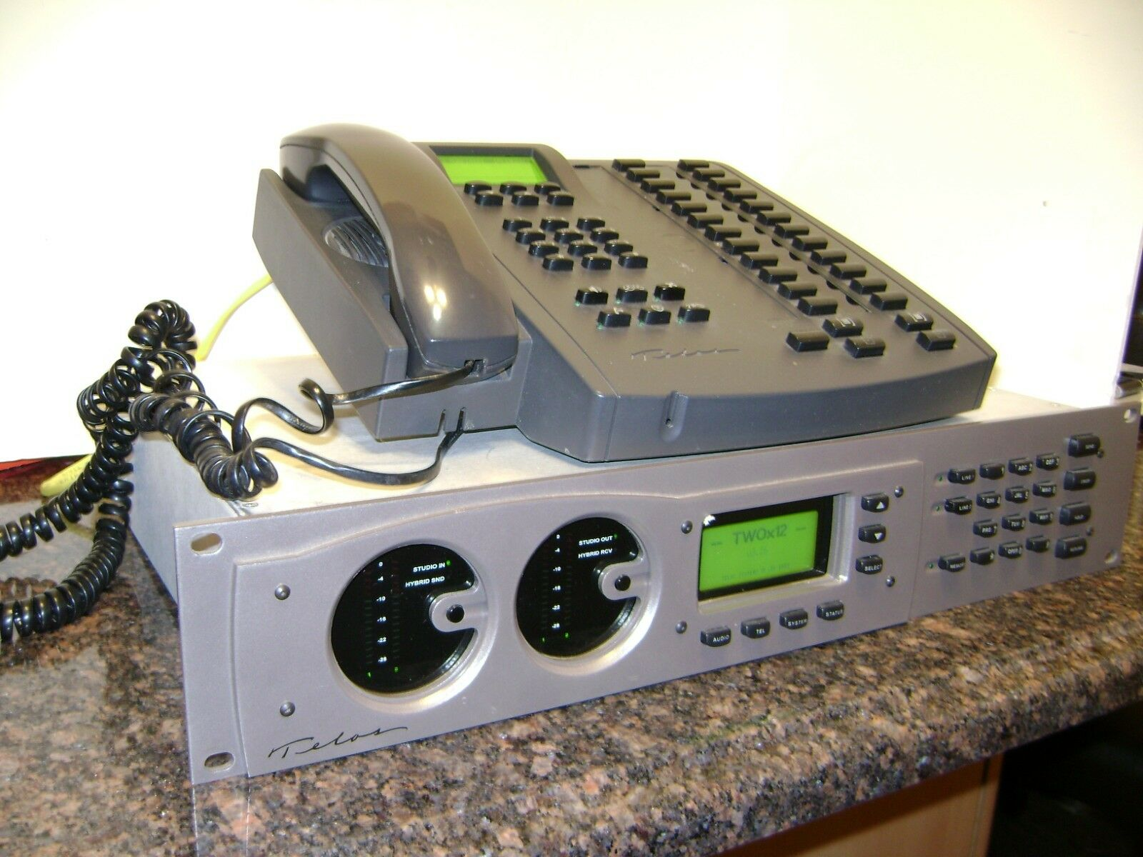 Telos Two X 12 POTS IP 6 Line Broadcast Studio Talk Show Phone System,