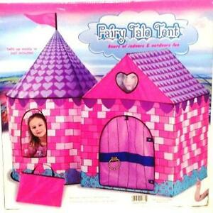 Image Is Loading Toddler Toy Clean Cubes Fairy Tale Tent Kids
