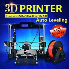 Tronxy Auto Leveling Desktop Metal DIY 3D Printer Prusa I3 Kit Filament Bundle G