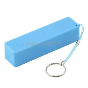 USB Mobile Power Bank Charger Pack Box Battery Case For 1 x 18650 DIY Portable