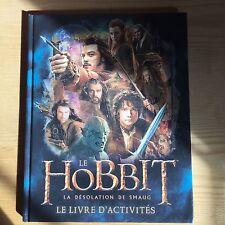 Livre The hobbit - la désolation de Smaug - le livre d'activité