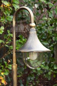 lampadaire ext rieur lampe sur pied lampe de sol lampe de jardin m tal 104837 ebay. Black Bedroom Furniture Sets. Home Design Ideas