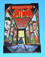 """DETECTIVE COMICS # 566 BATMAN 19"""" x 13"""" Wooden Poster NEW"""