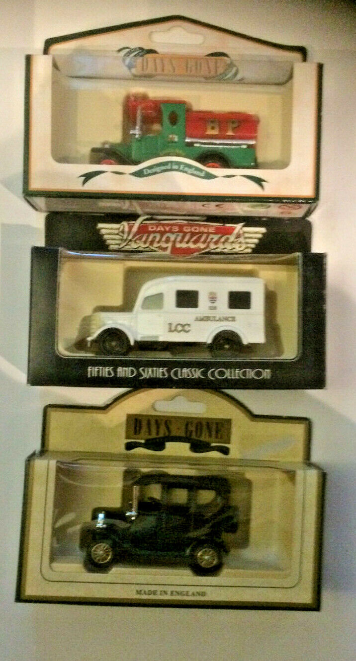 LOT OF 50 ASSORTED DIECAST MODELS FROM YEARS GONE BY AND LIDDIO