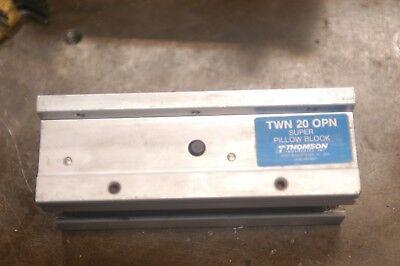"Thomson SPB 20 OPN Super Pillow Block 1 1//4/"" Linear Bearing"