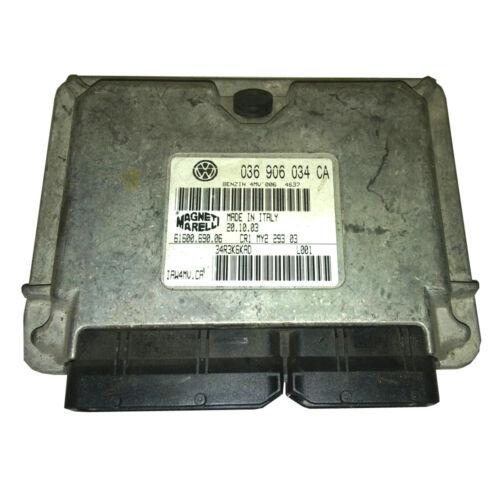 Motorsteuergerät ECU 036906034CA AUDI 24 Monate Garantie