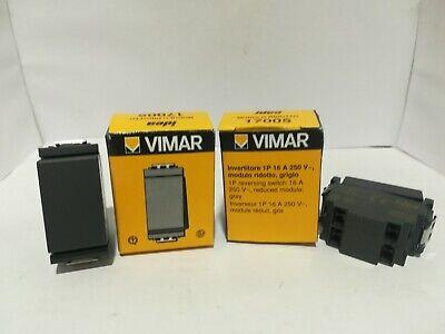 VIMAR 17005 INVERTITORE 1P 16AX GRIGIO