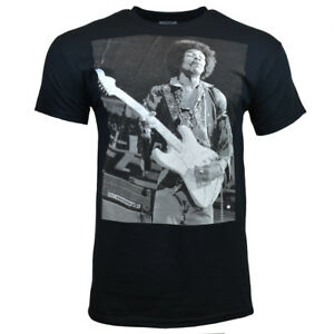JIMI-HENDRIX-Men-Tee-T-Shirt-S-M-L-XL-Sleeve-Music-Vintage-Guitar-Rock-BLACK-NEW