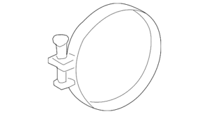 Genuine Toyota Engine Air Duct Clamp 96111-10850