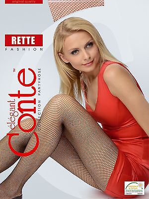 2 Paia Donna Rete Collant Micro Salvi Fashion Bronzo Neri Di Conte-e Micro Rette Fashion Bronze Schwarz Von Conte It-it Mostra Il Titolo Originale