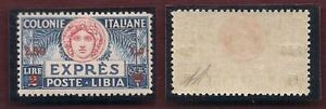 LIBIA-Espresso-L-2-50-su-L-2-azzurro-con-soprast-rossa-e-dent-11-sigla-A-D