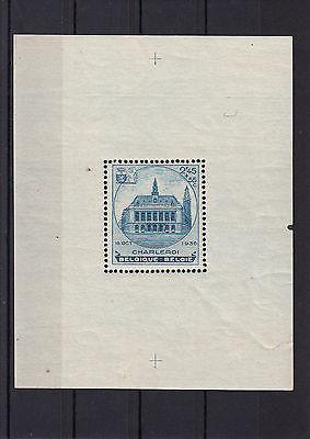 Marke Einwandfrei,siehe Scan Belgien, Eb Block 5 Postfrisch,kleiner Randriß