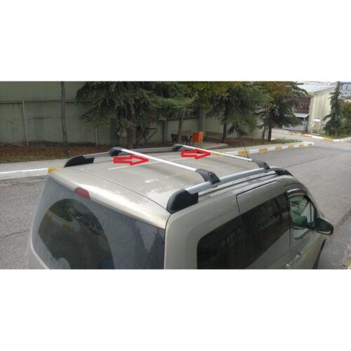 VW Caddy 3 /& 4 Dachreling mit Gepäckträger Dachträger ab.2010 SCHWARZ