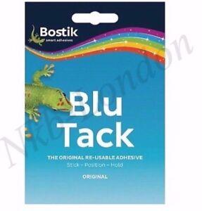 FREE UK P/&P Bostik Blu Tack Sticky Tac Blue Economy Handy Size