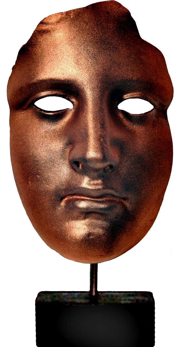 Aphrodite Venus Greek Italian Goddess fragment of Sculpture mask 30 cm statue.