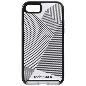 Tech21-Evo-Elite-Active-Edition-Gel-Case-for-iPhone-8-7-Gray-Black-Reflective