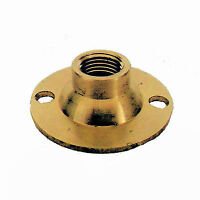 Lot Of 60 Brass Flanges To Create Hole Tv-590