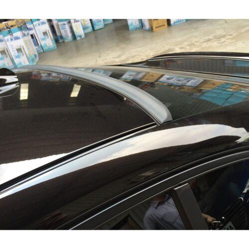 Flat Black 114 KS Rear Window Roof Lip Spoiler Wing For 2009~14 Acura TSX Sedan