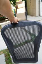 Used Herman Miller Aeron Seat Back With Standard Mesh Aeron Chair Parts Size B