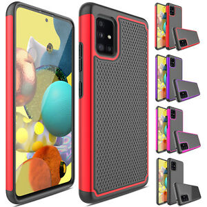 Pour-Samsung-Galaxy-A51-5-g-Case-antichoc-hybride-robuste-caoutchouc-dur-coque-Housse
