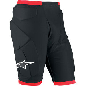 Alpinestars-Padded-Race-Compression-Motorcycle-Shorts-Black-Red