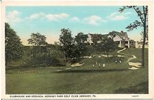 Clubhouse and Grounds at Hershey Park Golf Club in Hershey PA Postcard