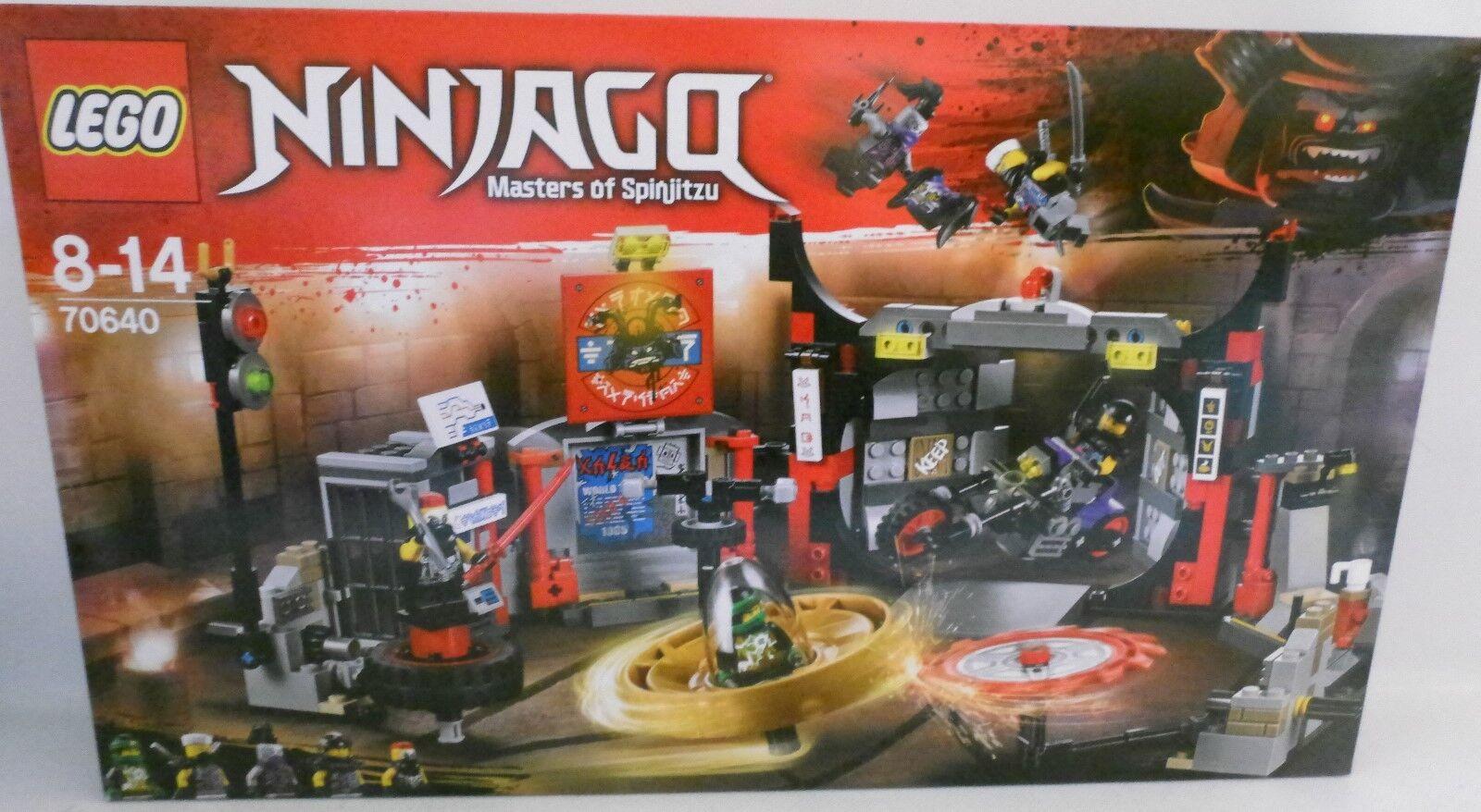 NEU NEU NEU LEGO® NINJAGO 70640 Hauptquartier der Motorradfahrer OVP c454aa