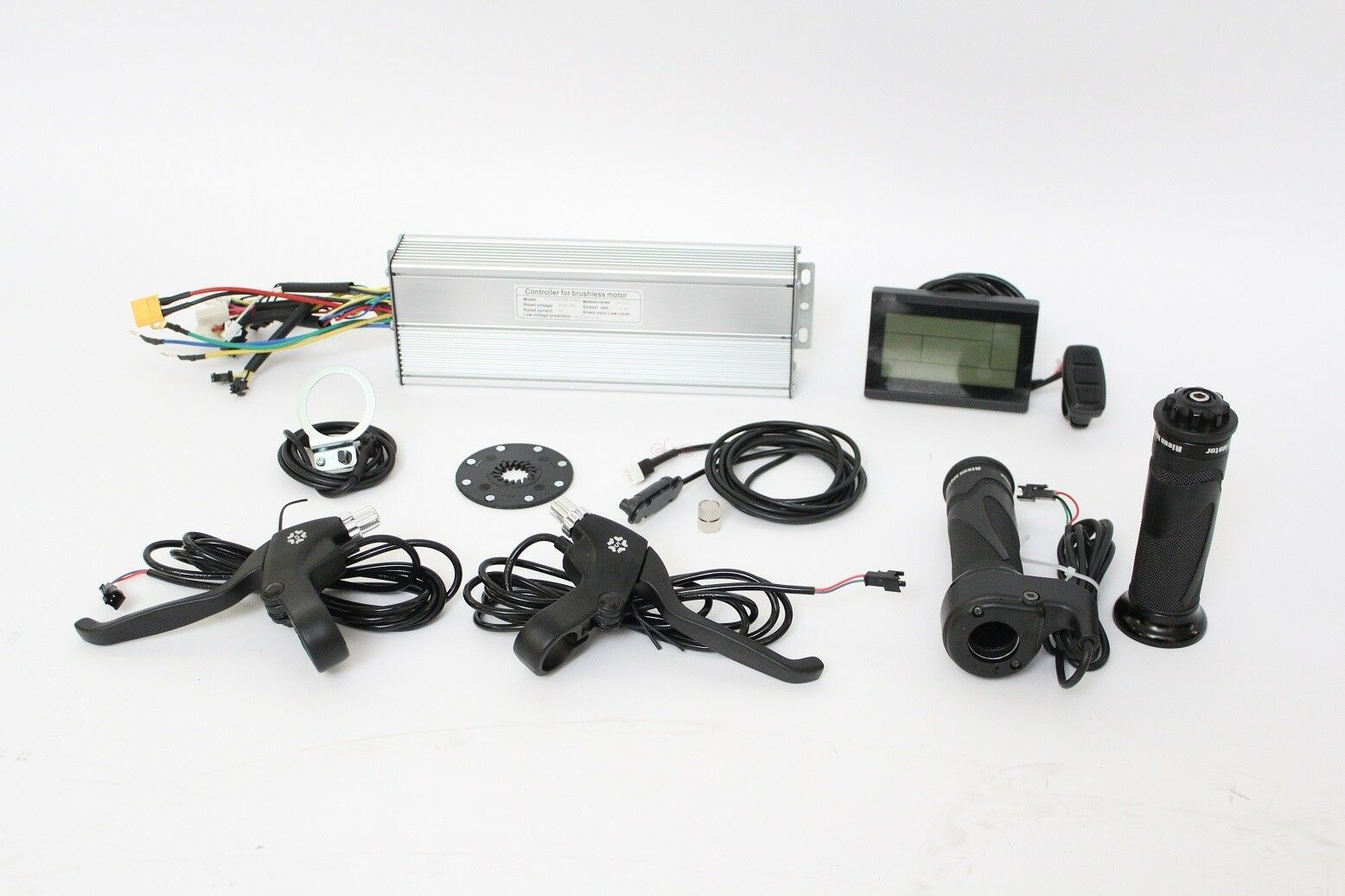 36 48V 500-750W 25A Square Wave Controller+LCD+Thredtle+PAS+Brakes+Speed Sensor   hastened to see