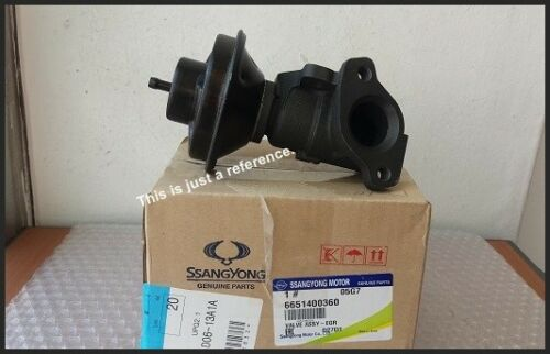 GENUINE TURBO DIESEL EGR VALVE ASS/'Y 6651400360 For SSANGYONG  REXTON 04~2017