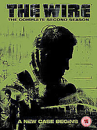 The-Wire-Series-2-Complete-DVD-2005-5-Disc-Set-Box-Set-New-Sealed