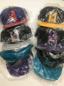 vtg-90-039-s-Disney-MICKEY-MOUSE-Flat-Bill-Ball-Cap-Hat-Choice-of-colors-New-Old-Sto