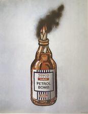 "BANKSY POSTER "" Tesco Petrol Bomb """