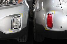 Per KIA SORENTO 2013 - 2014 Chrome anteriore e posteriore per nebbia luce copre set Trim