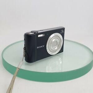 Sony-Cyber-shot-DSC-W800-20-1MP-Digital-Camera-Black-Tested-Working-Great-420