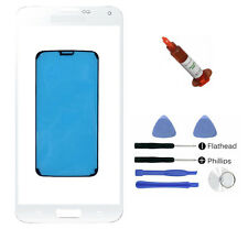 White front glass lens Galaxy S5 Mini G800 replacement LOCA Glue Adhesive Tool