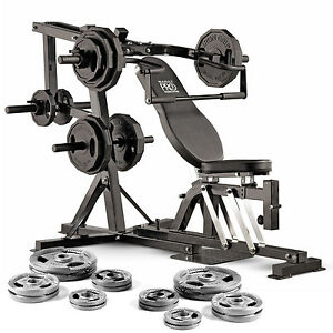 Marcy Pro PM4400 Leverage Home Multi Gym Weight Bench 125kg