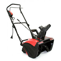 Maztang 18 13 Amp 180 Degree Chute 2100 Rpm 120v Electric Snow Blower Thrower on sale