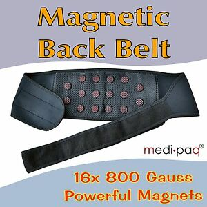 Magnetic-Back-Belt-Support-Powerful-Magnets-Lumbar-Brace-Backache-Pain-Posture