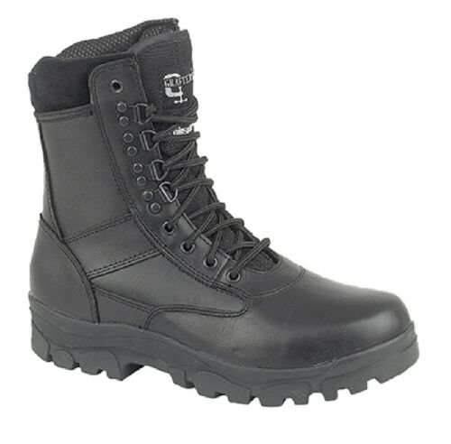 Unisex M671 Thinsulate Military Combat Gun foderato Boots Top Grafters qwStx