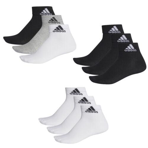 chaussettes de Adidas unisexes Adidas et bas Performance 12 paires Gr3554 baskets courtes 76Yfbygv