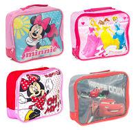 Official Disney Insulated School Lunch Bag Novelty Box Children Boys Girls Kids