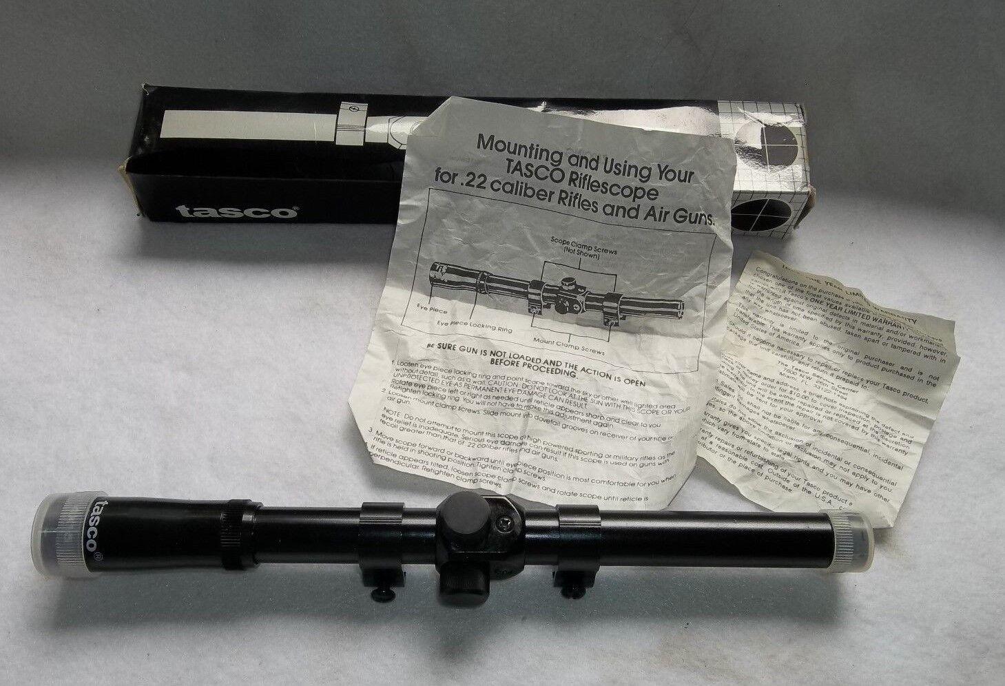 Tasco Rifle Scope or Air Rifle Scope